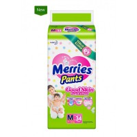 Merries Popok Pants Good Skin - M 34
