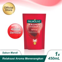 Palmolive Aromatheraphy Sensual Shower Gel/Sabun Mandi Gel 450ml