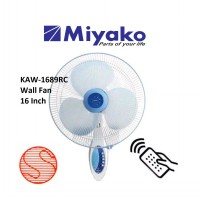 MIYAKO WALL FAN KAW-1689RC KIPAS ANGIN DINDING