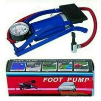 Foot Pump Pompa Kaki Injak Angin Mobil Motor Tekanan Tinggi Air High P  SJ0019