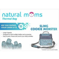 Natural Moms Cooler Bag Sling Cookie Monster