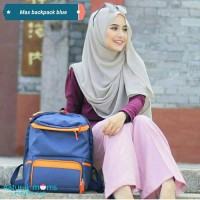 Max Blue Natural Moms Backpack Ransel Coolerbag Asi