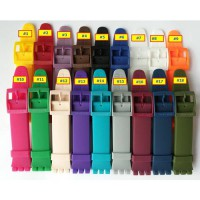[globalbuy] 18 colors High Quality 19mm Durable Rubber Watch Strap For Swatch Silicone Ban/2866181