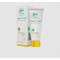 Gizi Super Cream Daily Nutrition Cream + SPF18 18Gr Tube BPOM Original