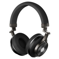 Bluedio T3 Plus 3D Sound Effect Bluetooth Headset Mic with Micro SD - Hitam
