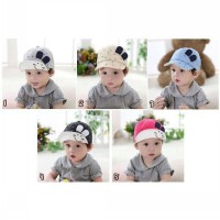 Smile Hat With Ear/Bunny Hat Smile Topi Anak Impor