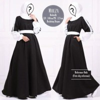 Moeza Dress Hitam