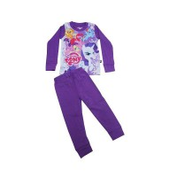J2 Pajamas Baby Little Pony Ungu 6-24M