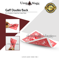 Gaff Double Back Bicycle Card (Alat sulap, Kartu Sulap, Kartu Mainan)