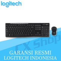 Logitech Wireless MK270R Combo Keyboard + Mouse (BLACK)