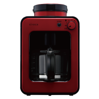 Siroca Fully Automatic Coffee Maker - Red