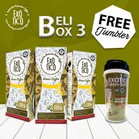 Paket 3 Box Green Coffee Diet Free Tumblr ( BPOM , HALAL)