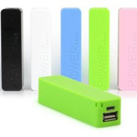 Candy powerbank 2600 mAh Simple Design