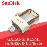 SanDisk OTG 32GB m3.0 USB 3.0 Ultra Dual USB Drive - Gold Edition