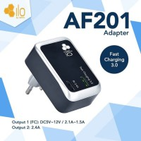 Hippo ILO AF201 Adaptor Charger Fast Quick Charging 3.0 Simple Pack