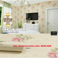 wallpaper sticker 10-37B uk 45cm x 10m garis gelombang pink