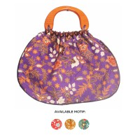 Tas / Tote Bag Batik V.2 ( Handle Kayu )