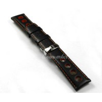 [globalbuy] 20mm (Buckle 18mm) NEW PRS516 T91ao T021 Racing series Black leather Watch Ban/2235374