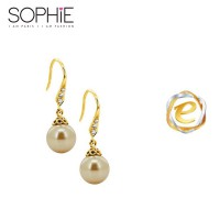 SOPHIE PARIS HARA EARRING GOLD - E0182G1