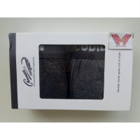 Boxer Short Crocodile 555-001 (1box=2pcs) Celana boxer pria crocodile / Boxer