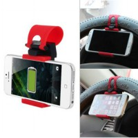 Car Steering Wheel Phone Socket Holder | Holder Stir