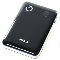 AILI Case Power Bank DIY untuk 4Pcs 18650 - Black White