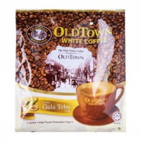 OLDTOWN WHITE COFFEE 3in1 NATURAL CANE SUGAR