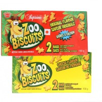 KINHDO - ZOO BISCUITS ORIGINAL  CHEESE FLAVOUR
