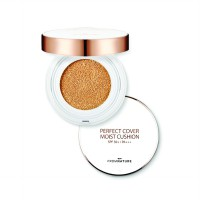 Fromnature Perfect Cover Moisture Cushion 21 SPF 50+ PA+++ 15 gram
