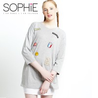 SOPHIE PARIS KARLINA MISTY GREY XL - TLSKXM3XL