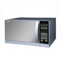 Sharp R-728S-IN Microwave Grill 25 Liter - Silver