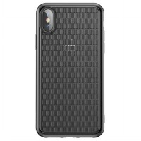 Baseus New BV Weaving Case Apple iPhone XS Max (6.5 Inch) - Hitam