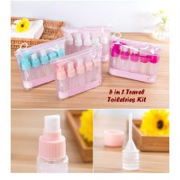 5 in 1 Travel Toiletries Kit ( 1 set isi 5 pcs botol)
