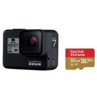 GoPro Hero 7 Black Specialty Bundle with SD Card - Garansi Resmi