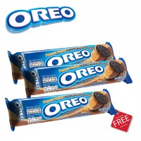 [Buy 2 Get 1] Oreo Peanut Butter and Chocolate 137 gr