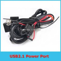 [globalbuy] Sport Motor Kit Bike Scooter 12V Fused USB Power Supply Port Cable for HTC Iph/2826557