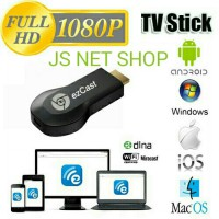 EZCast HDMI Wifi Dongle Wireless Mirror Miracast Airplay DLNA Proyektor dari Smartphone ke HD TV