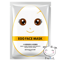 BIOAQUA MASKER TELUR PUTIH WHITE SMALL EGGS TENDER AND SMOOTH / SKC00831