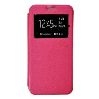 Smile Flip Cover Case Samsung Galaxy A5 - Hot Pink
