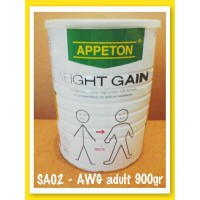 Susu Appeton Weight Gain 900gr dewasa/adults