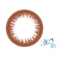 X2 Bio Brown Byonce by Exoticon Softlens (Promote by Agnes Monica) Premium Quality Softlens!
