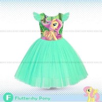 Dress Anak My Little Pony Flutter Shy