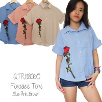 FLOROSIES TOP-ATPD18065 (NEW COLLECTION)