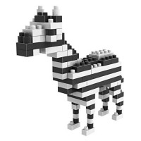 [poledit] LOZ mini Diamond blocks building set - Zebra (T1)/11966410