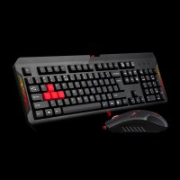 Bloody Q1100 BLAZING GAMING DESKTOP Keyboard + Mouse