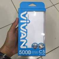 POWERBANK VIVAN C5 5000mAh