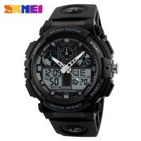 SKMEI Jam Tangan Analog Digital Pria - AD1270 - Black