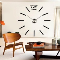 DEKORASI RUMAH 3D Giant Wall Clock
