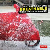 Cover Super Cover Motor Size L Merah