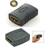 Adapter HDMI Female to Female Gender Converter Konektor Kit